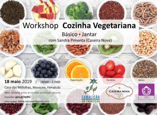 Workshop de Cozinha Vegetariana pela Famalicão em Transição